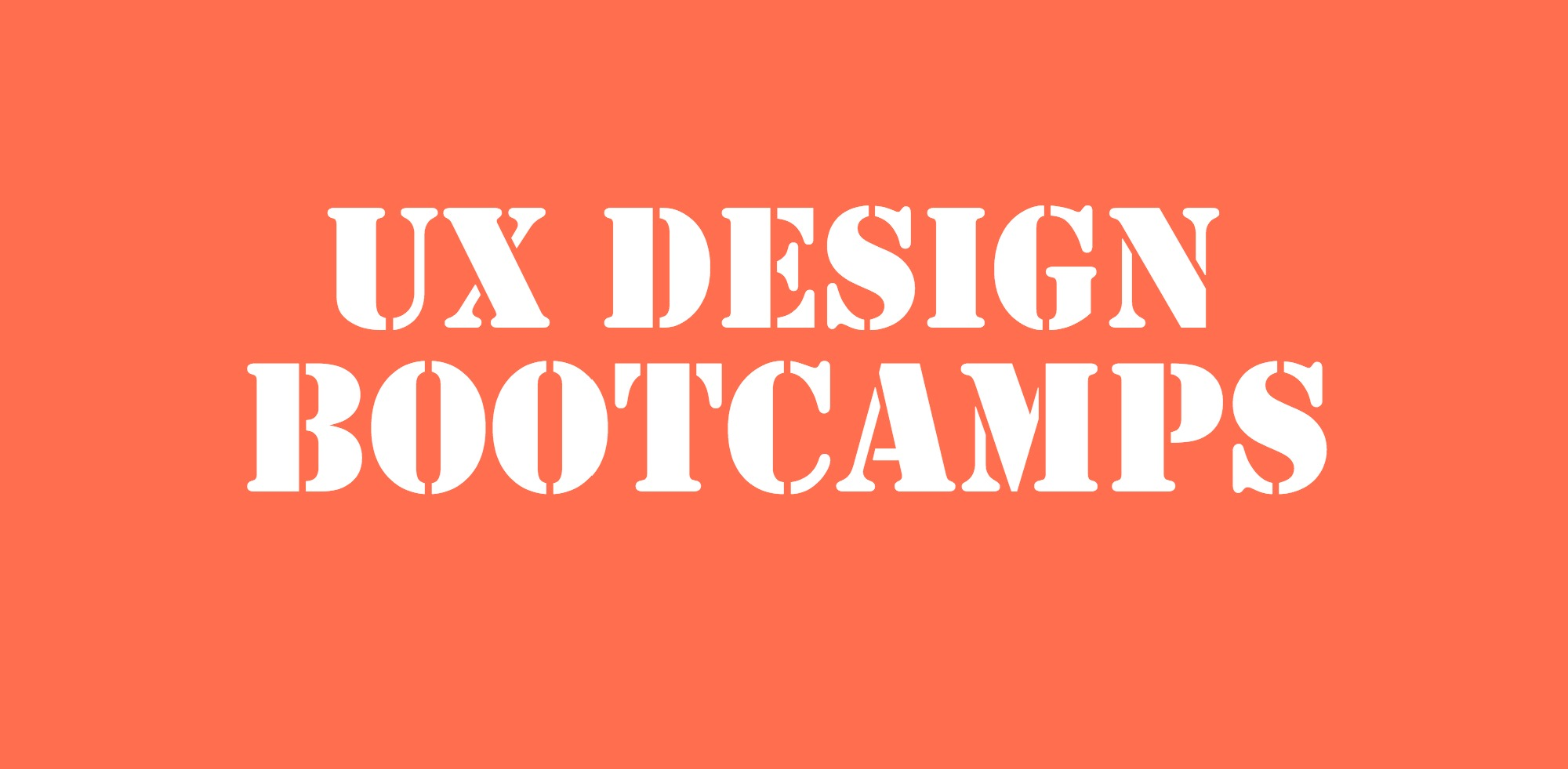 UX Design Bootcamps pic