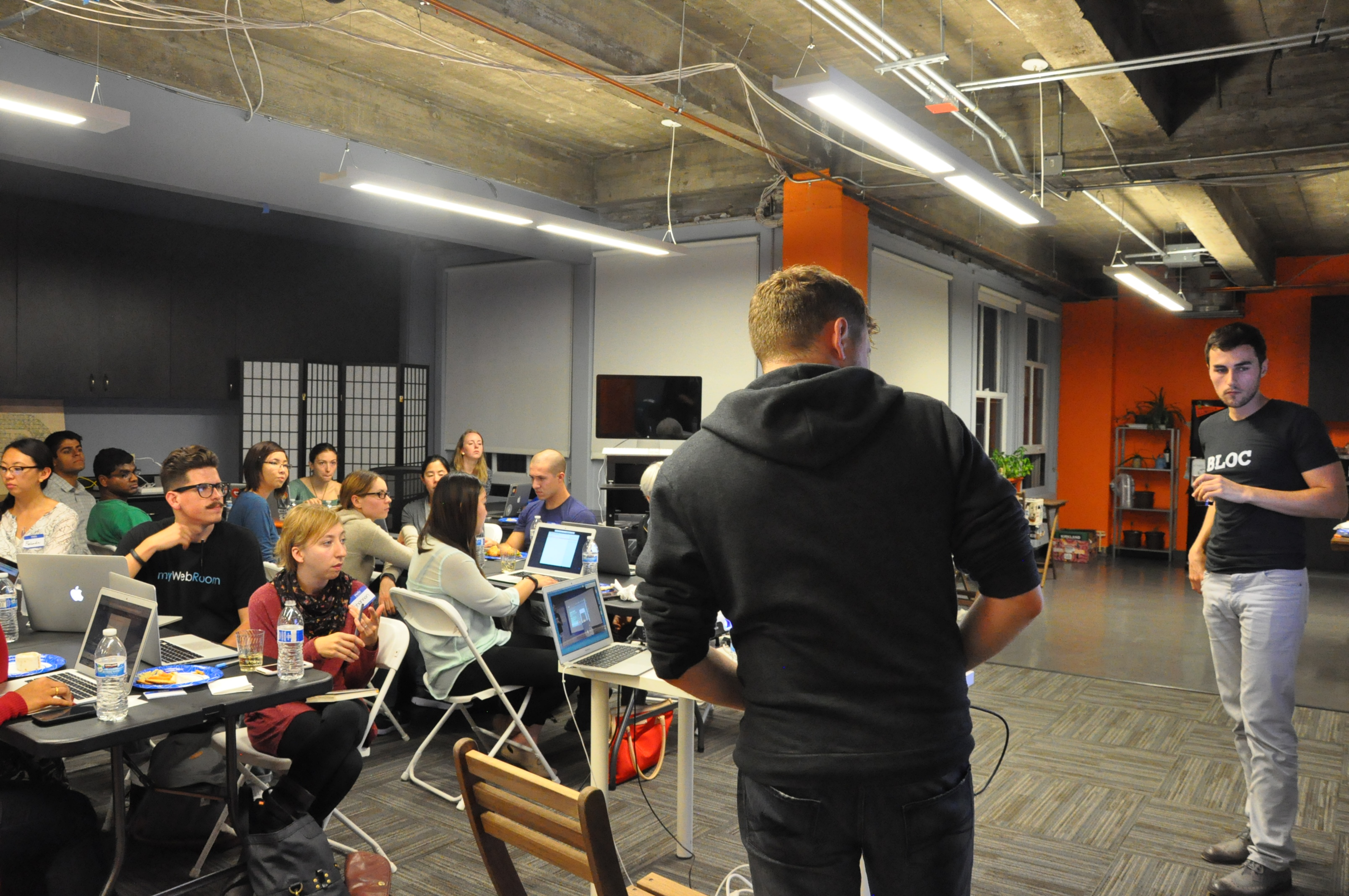 Bloc's Online Bootcamp Hosted a iOS Swift Workshop in San Francisco with Girl Develop It